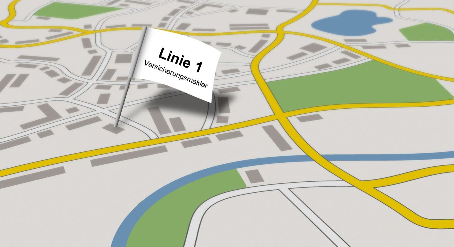 Linie 1 Versicherungsmakler Berlin Kontakt/Anfahrt